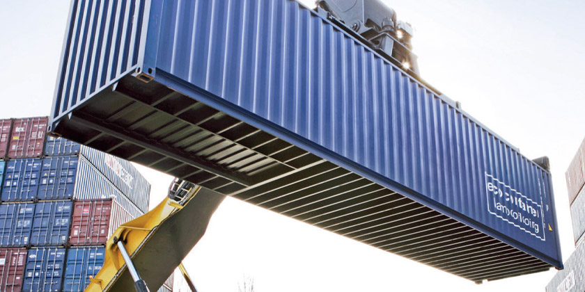 Determination of the verified gross weight (VGM) for freight containers