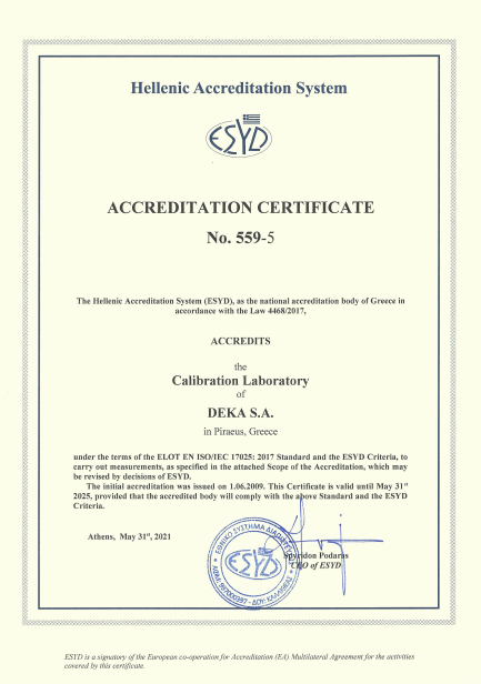 Successful Renewal of ISO / IEC 17025: 2017